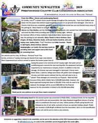 Prestonwood Country Club Condominium Association – A